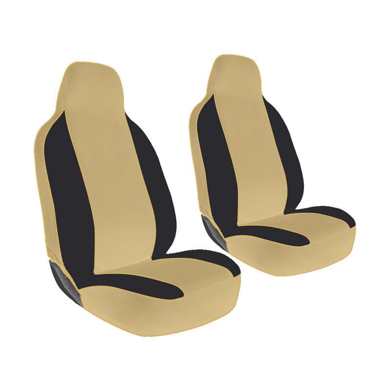 GL Ferari Sarung Jok Mobil Untuk Daihatsu Sigra - Black Capuccino