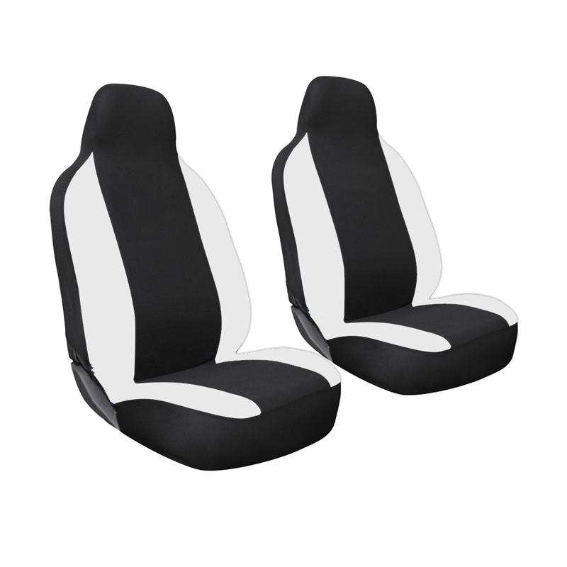 GL Ferari Sarung Jok Mobil untuk Toyota Calya - Black White