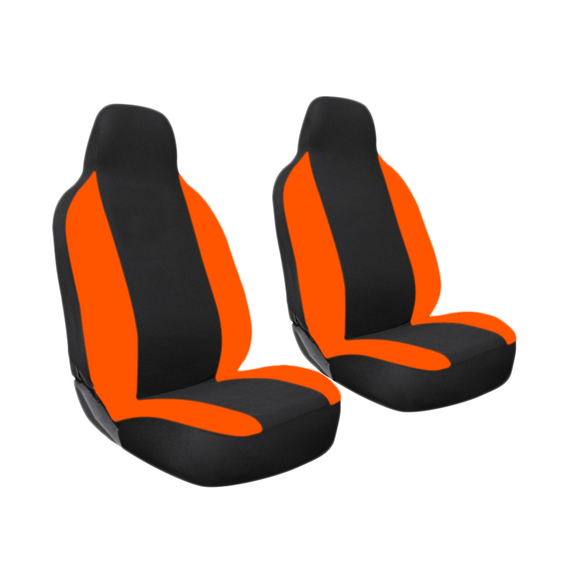 GL Mbtech Sarung Jok Mobil untuk Daihatsu Sigra - Black Orange