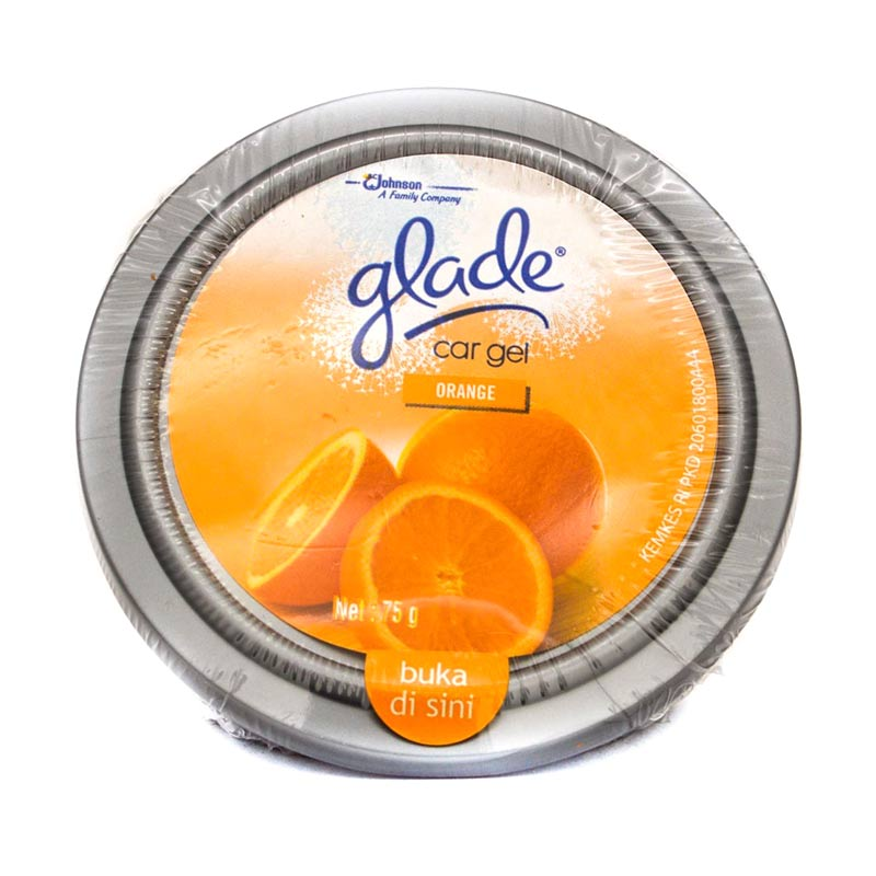Glade Car Gel Orange Parfum Mobil