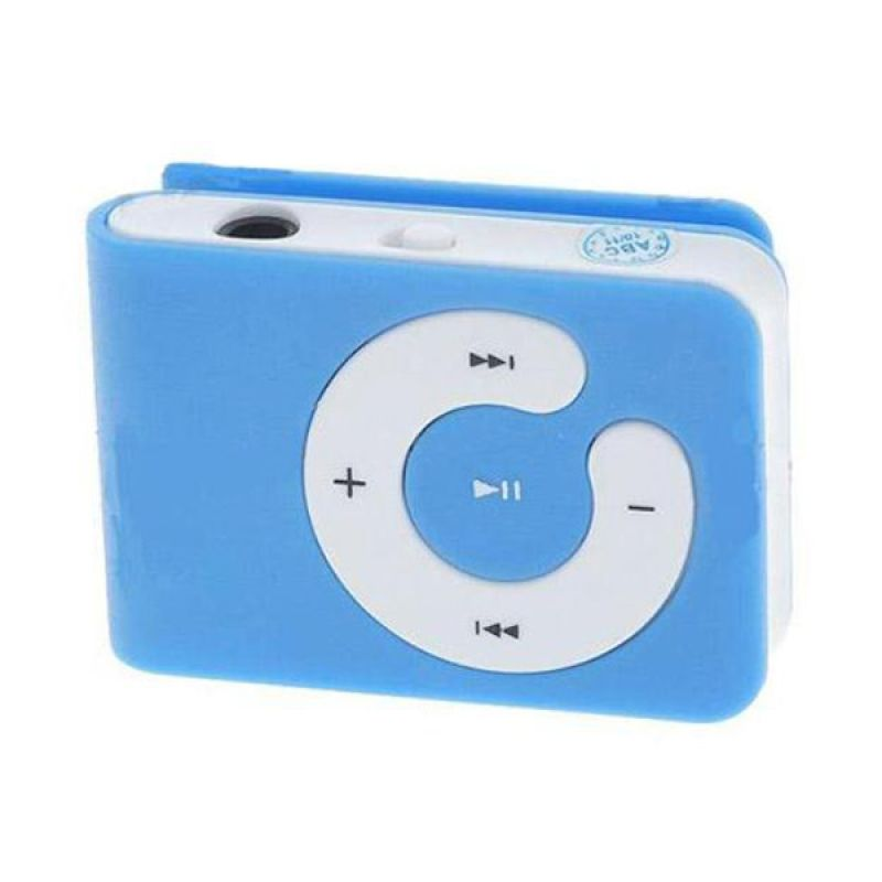 harga Glitz Mini Blue MP3 Player Blibli.com