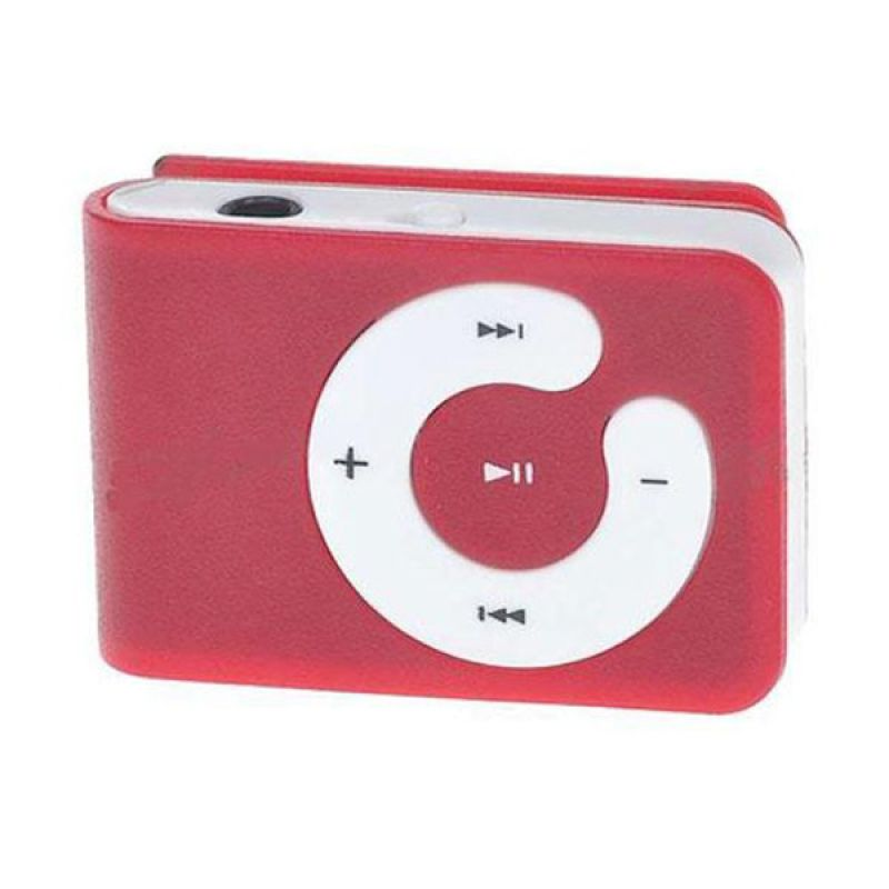 Glitz Mini Red MP3 Player