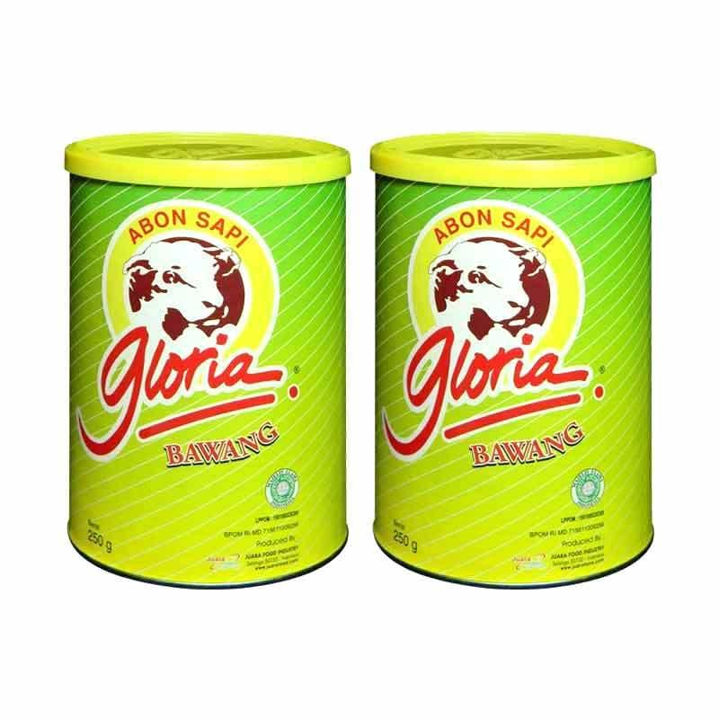 Gloria Abon Sapi Bawang 250 gr / 2 pcs