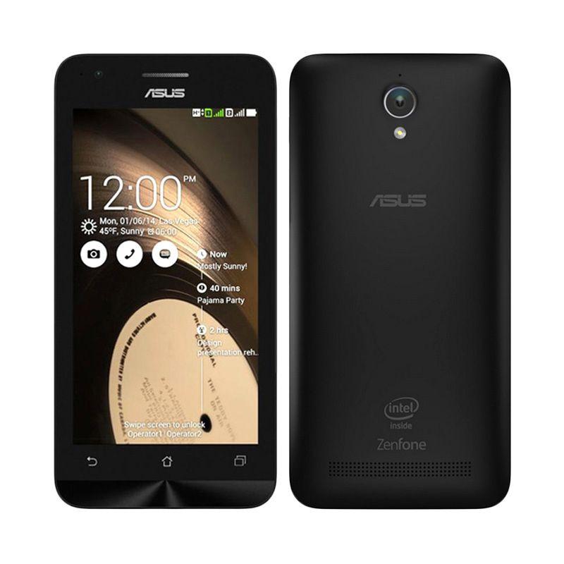 Asus Zenfone 4C ZC451CG Hitam Smartphone [8 GB/2 GB/Garansi Resmi]