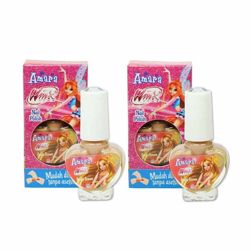 Amara Nail Polish Winx Club Bright Coklat
