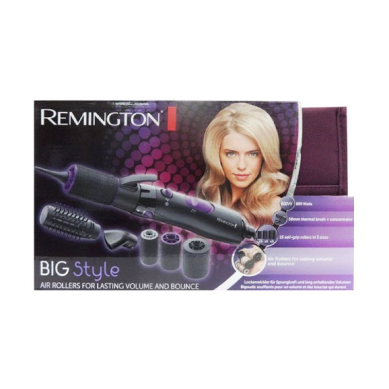 Remington Bigstyle Styler AS7055 RM047055 Hitam Hair Straightener by Gogo Mall
