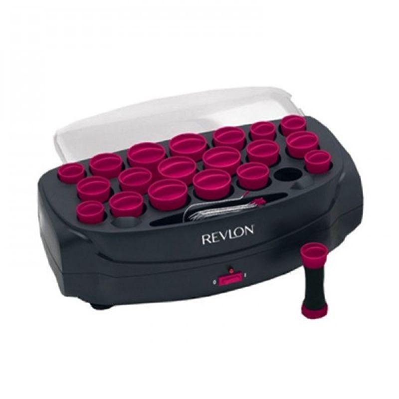 Revlon TVHS6762E Ungu Hitam Heated Rollers