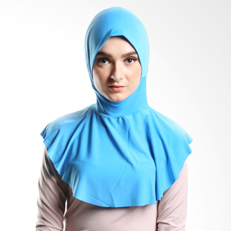 Goldee Cloth Beauty inner Blue Hijab