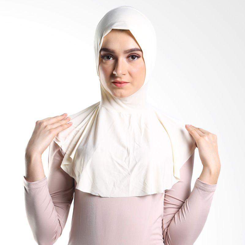 Goldee Cloth Beauty Inner Broken White Hijab