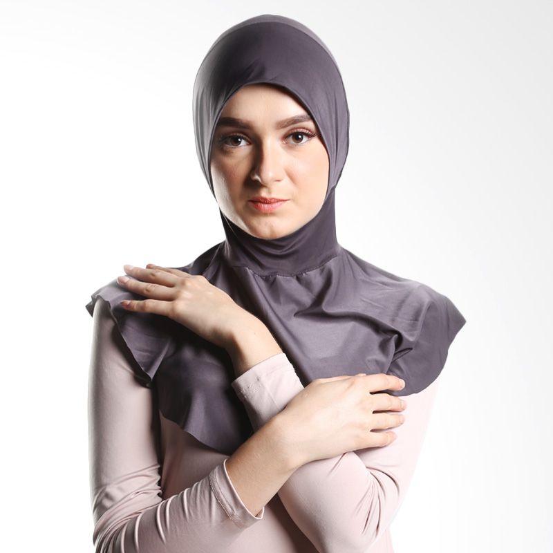 Goldee Cloth Beauty Inner dark Grey Hijab