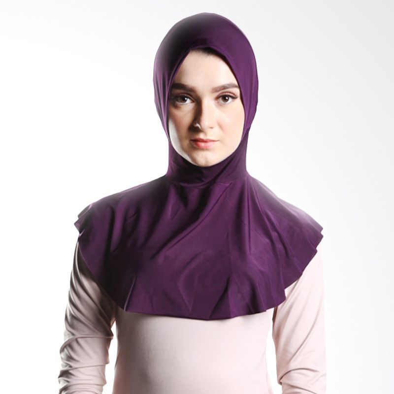 Goldee Cloth Beauty Inner Deep Purple Hijab