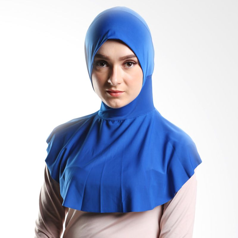 Goldee Cloth Beauty Inner Electric Blue Hijab