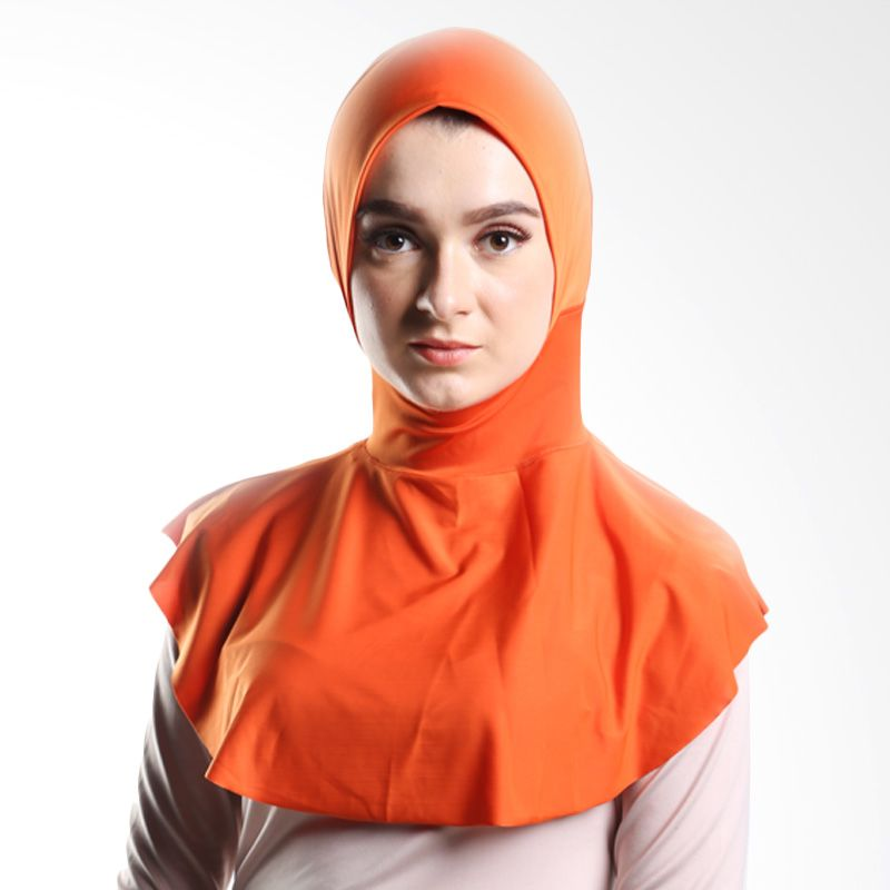 Goldee Cloth Beauty Inner Orange Hijab