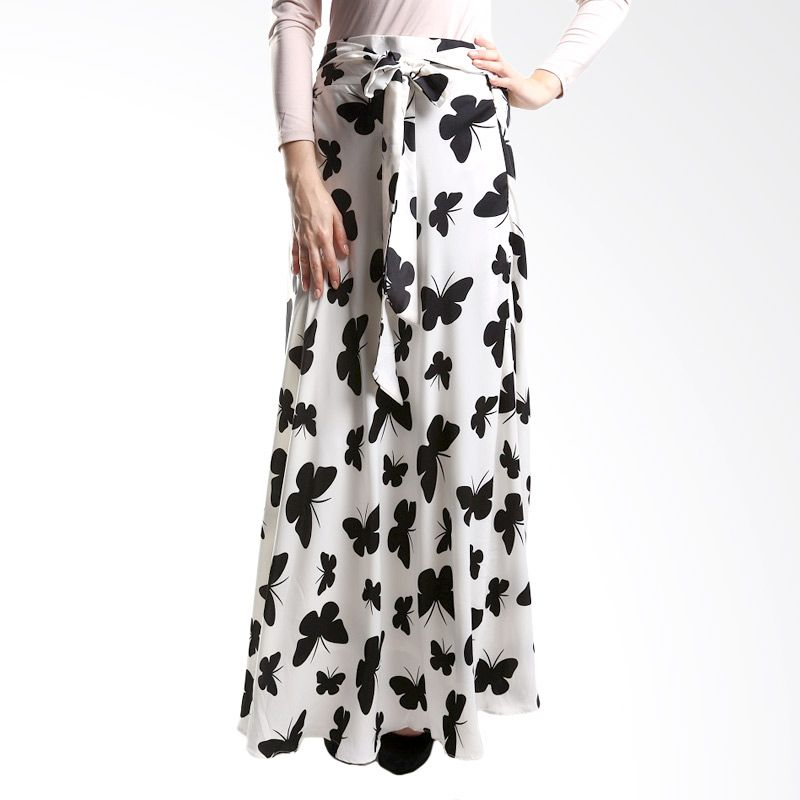 Goldee Cloth Butterfly Skirt White Rok