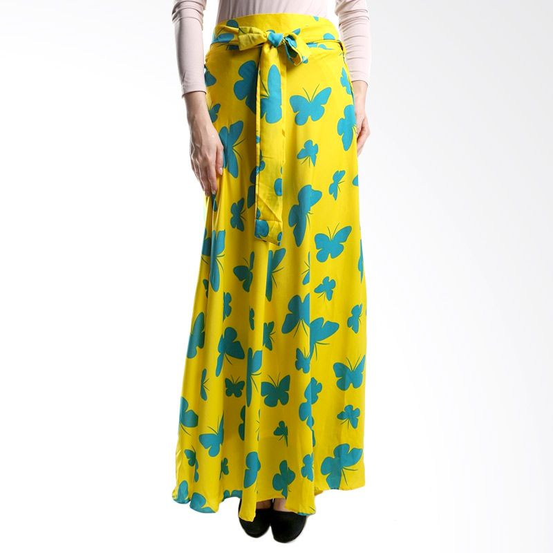 Goldee Cloth Butterfly Skirt Yellow Rok