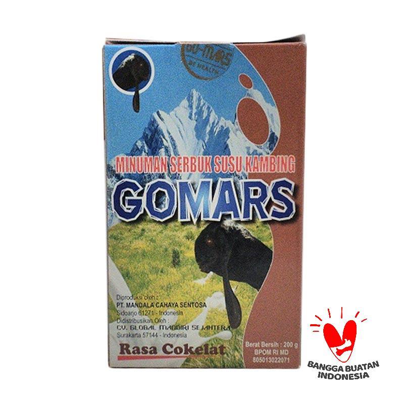 Jual Gomars Etawa Susu Kambing Rasa Cokelat Online - Harga
