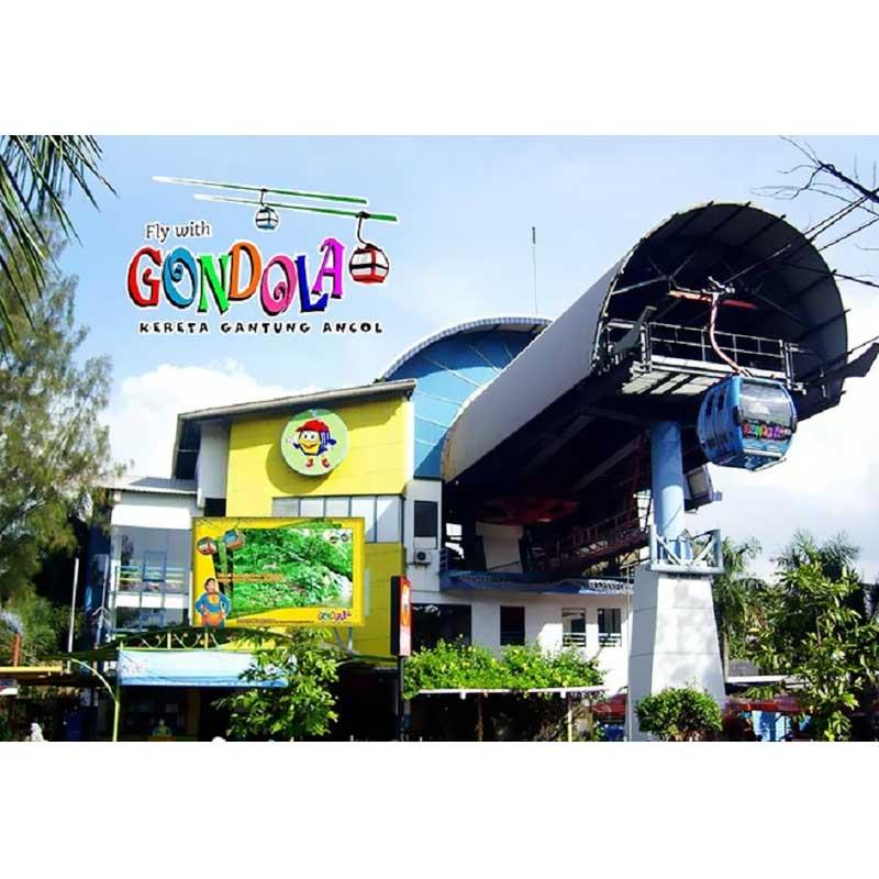Paket 1 orang Gondola Taman Impian Jaya Ancol e ticket