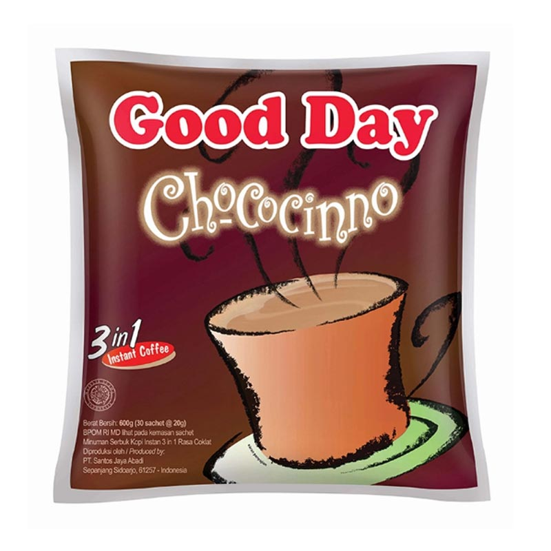 Good Day Chococinno Bag [20 g/30 pcs]