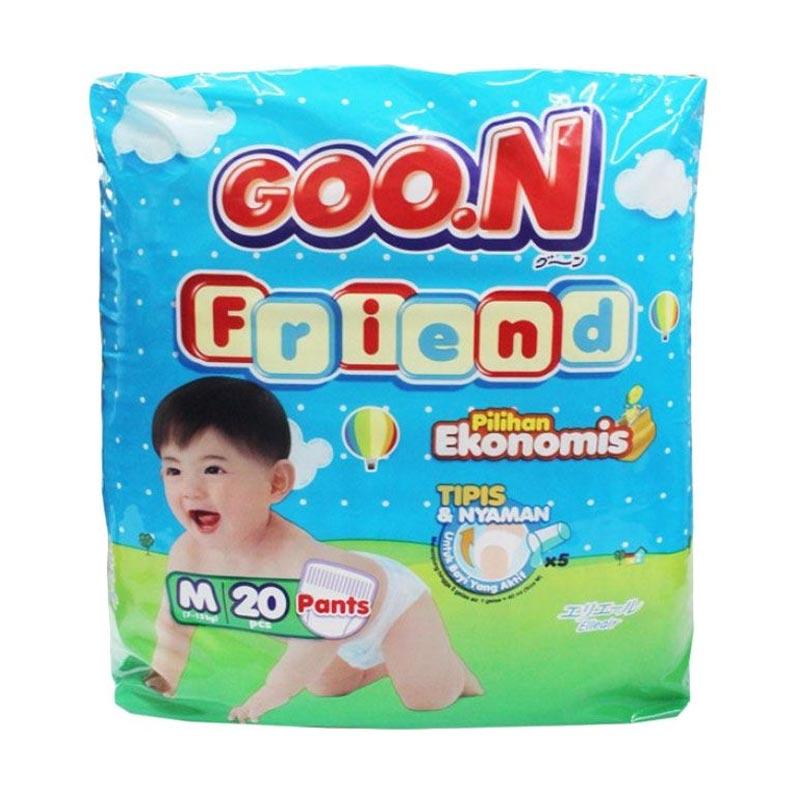 Goo.N Smile Baby Pants M 20 Popok Bayi