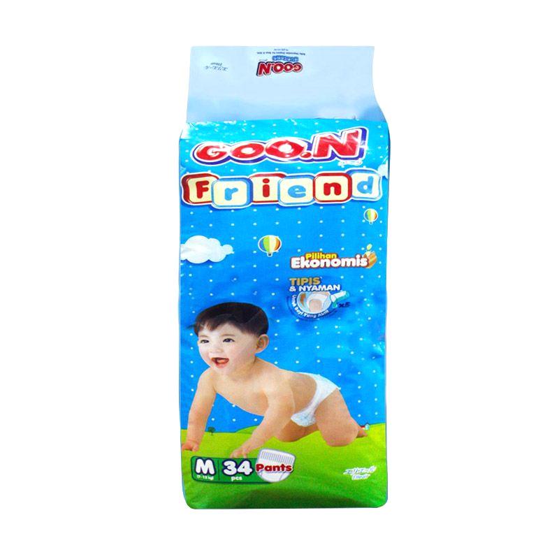 Goo.N Smile Baby Pants M 34 Popok Bayi