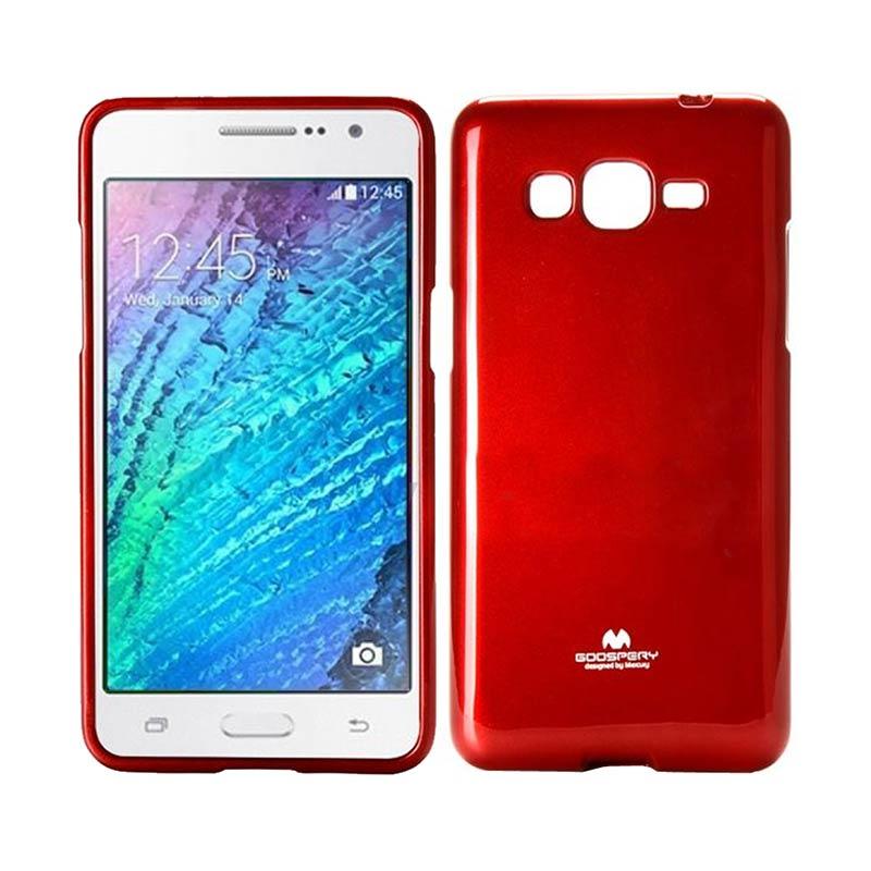 Home Smile Flip Cover Case Samsung Galaxy Grand Prime G530 Abu Abu Goospery .