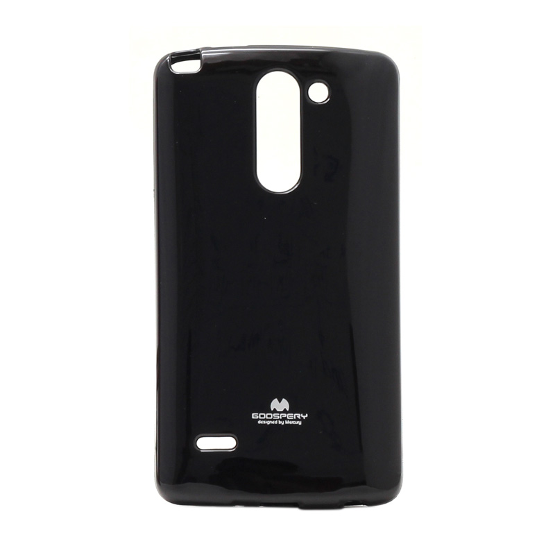harga Goospery Mercury Original Color Pearl Jelly Softcase Casing For LG G3 Stylus - Black Blibli.com