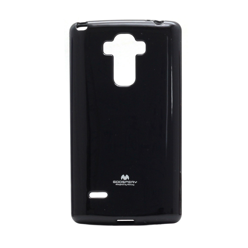 harga Goospery Mercury Original Color Pearl Jelly Softcase Casing For LG G4 Stylus - Black Blibli.com