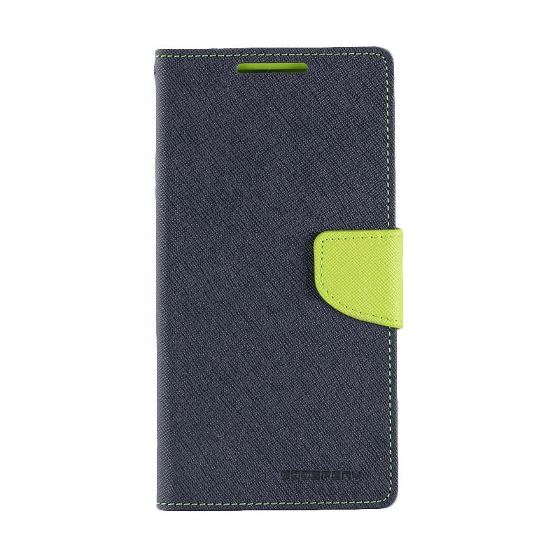 harga Goospery Mercury Original Fancy Diary Wallet Flip Cover Casing for Sony Xperia Z5 Compact - Blue Green Blibli.com