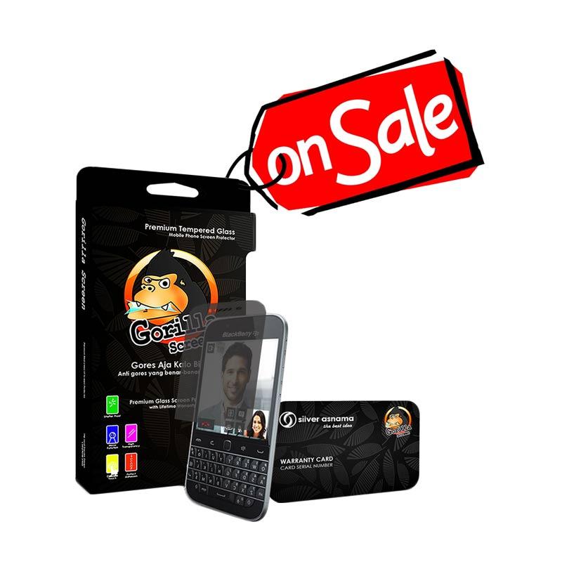 Spesifikasi Gorilla Screen Antigores Tempered Glass for Blackberry Q20 Harga murah Rp 140,000. Beli & dapatkan diskonnya.
