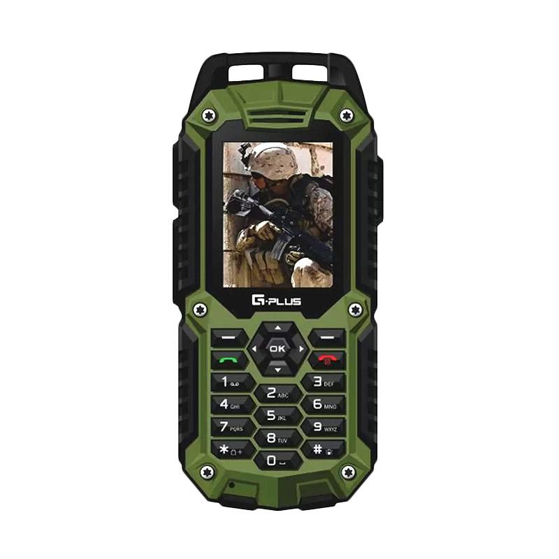 harga Gplus G10 Handphone - Hp Outdoor - Waterproof Ip67 - Hijau Blibli.com