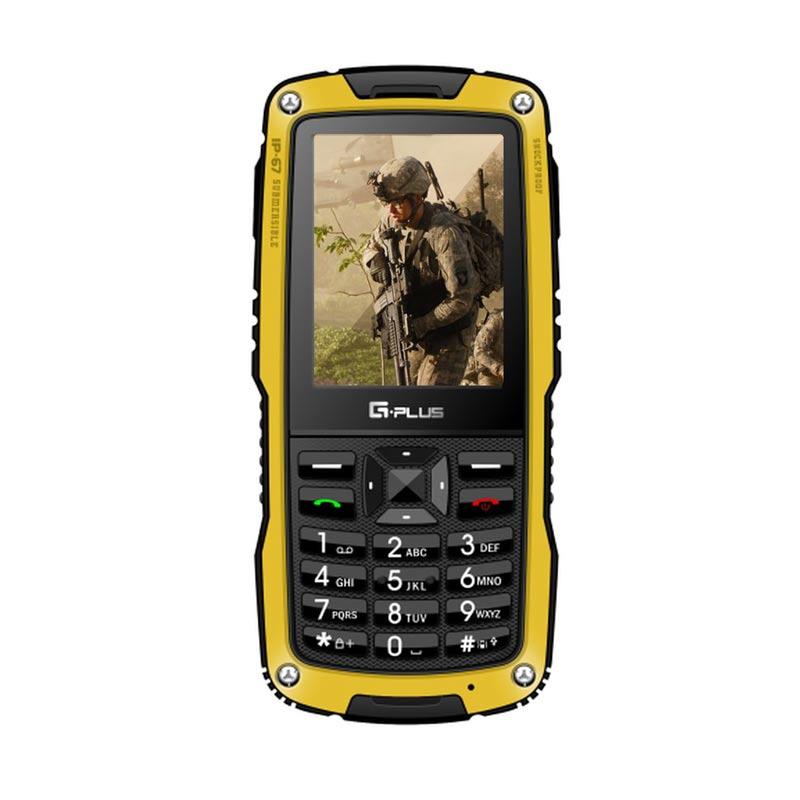 Gplus G5 Amphibi Handphone - Kuning