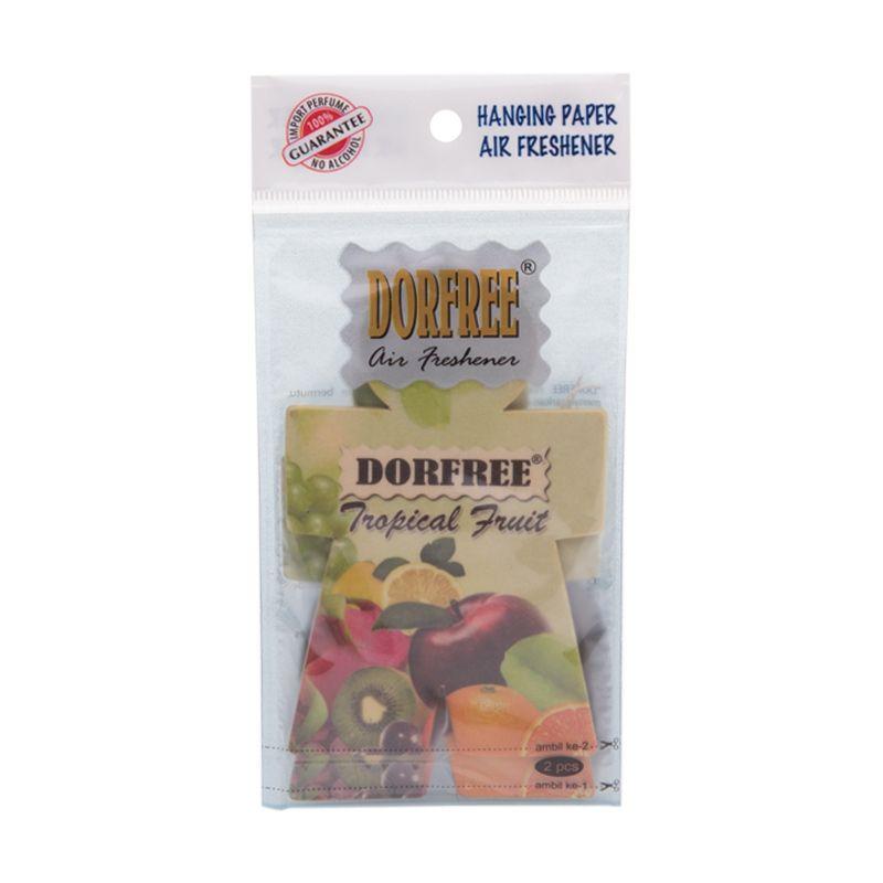 Dorfree Hanging Paper Tropical Fruit Parfum Mobil (2 Pcs)