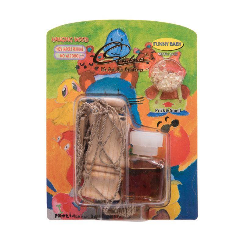 Qalua Starter Pack Funny Baby Parfum Mobil [15 mL]