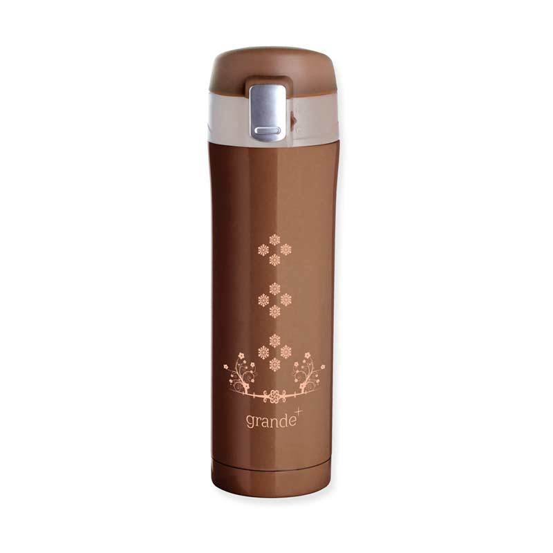 Grande One Touch Brown Tumbler