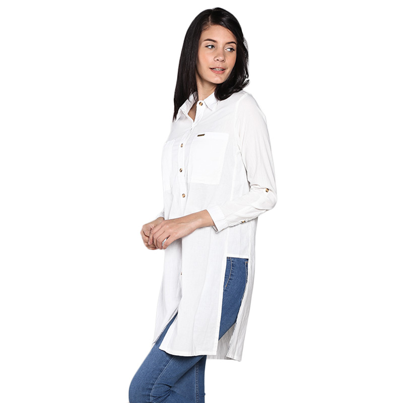 Graphis 12FS21602 Long Sleeve Shirt - Off White