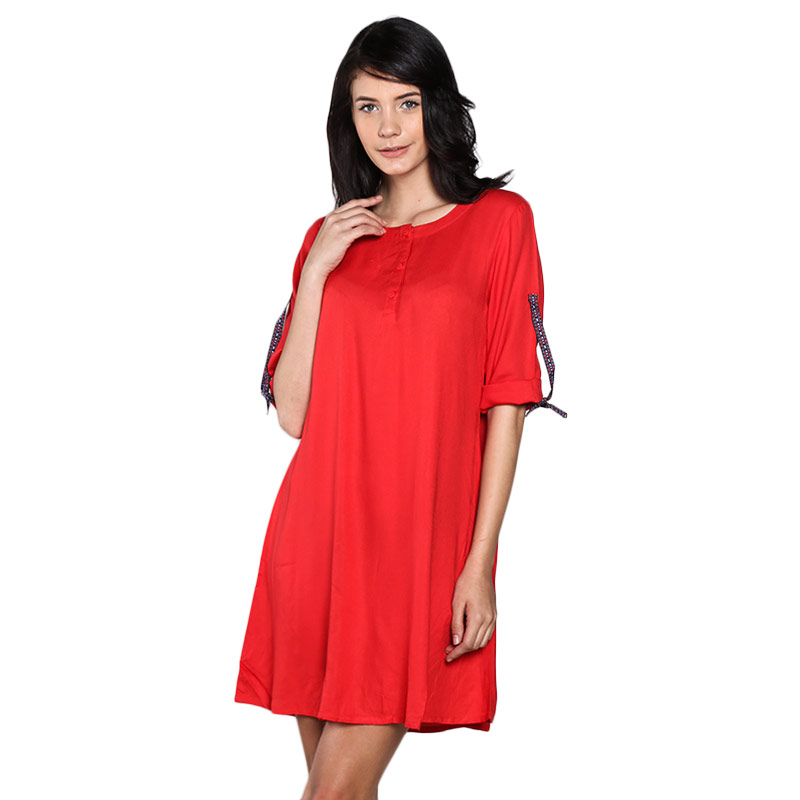 Graphis 17OS11507 Mini Dress - Red