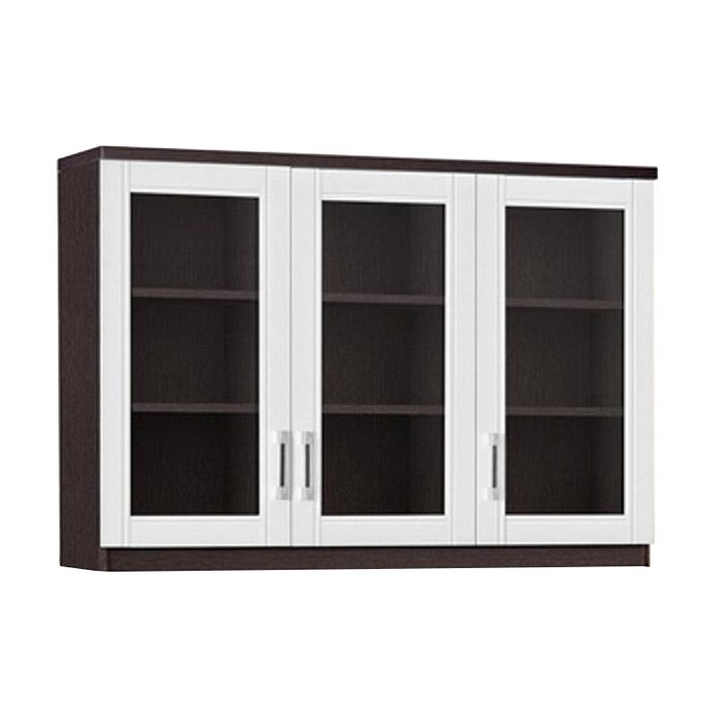Graver Furniture KSA 2663 Kitchen Set Atas [3 Pintu Kaca]