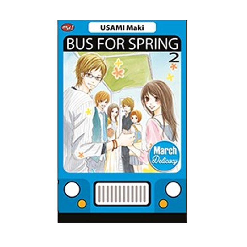 Grazera Bus For Spring Vol 02 by Usami Maki Buku Komik
