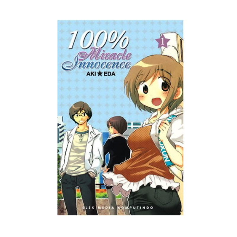 Grazera 100% Miracle Innocence Vol 01 by Aki Eda Buku Komik