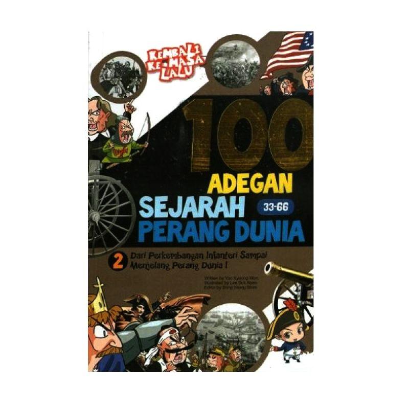 Grazera 100 Adegan Sejarah Perang Dunia Vol 02 by Lee Yong-Gu Buku Komik