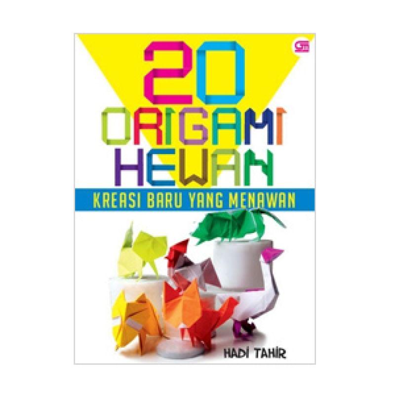 Grazera 20 Origami Hewan by Hadi Tahir Buku Hobi