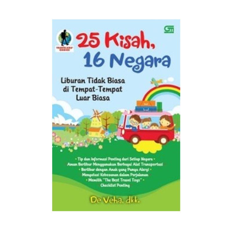 Grazera 25 Kisah, 16 Negara by De Veha, dkk Buku Pariwisata