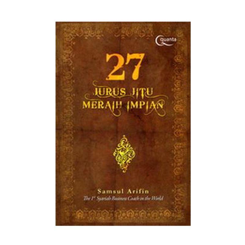 Grazera 27 Jurus Jitu Meraih Impian by Samsul Arifin Buku Agama + Tasbih dan Sajadah
