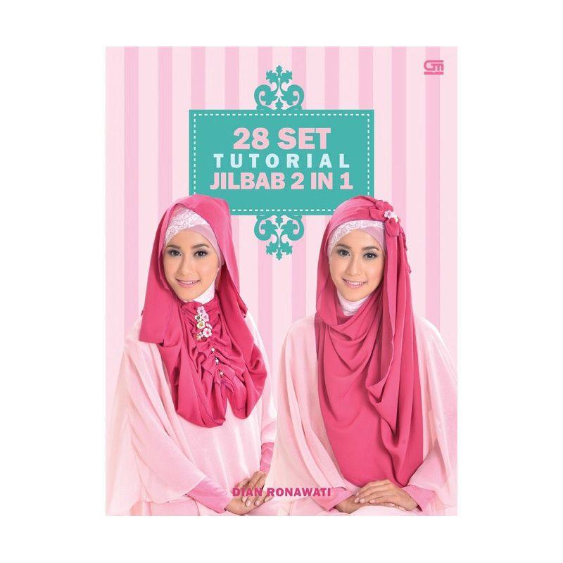 Grazera 28 Set Tutorial Jilbab 2 in 1 by Dian Ronawati Buku Agama
