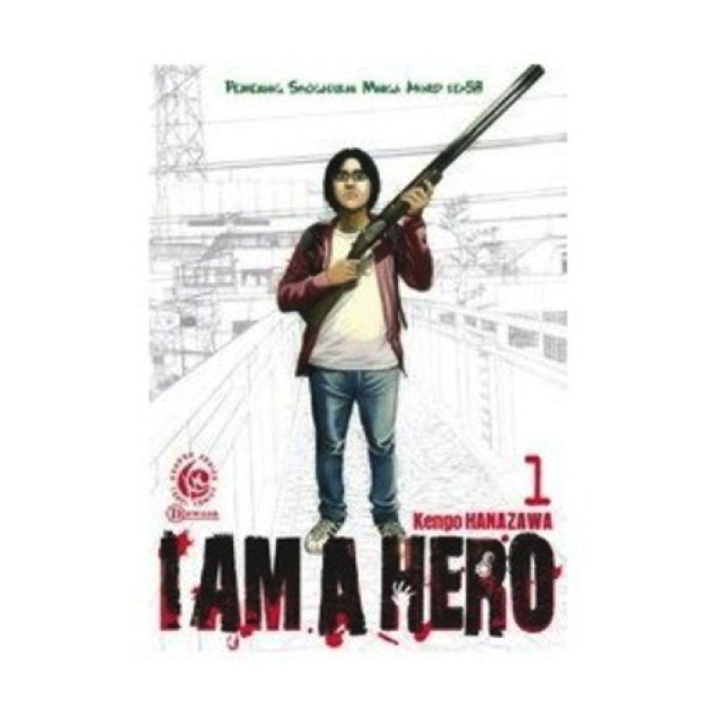 Grazera I am a Hero Vol 01 by Kengo Hanazawa Buku Komik