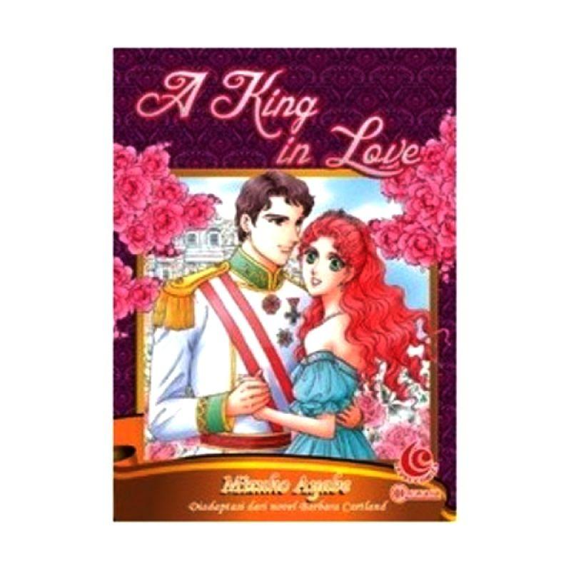 Grazera A King in Love by Mizuho Ayabe Buku Komik