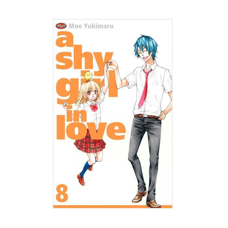 Grazera A Shy Girl In Love Vol 8 by Moe Yukimaru Buku Komik