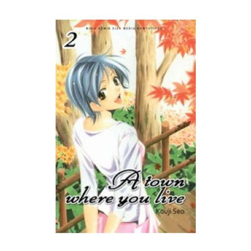 Grazera A Town Where You Live Vol 02 by Kouji Seo Buku Komik