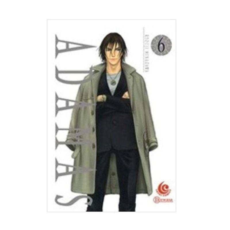 Grazera Adamas Vol 06 by Ryouji MINAGAWA Buku Komik