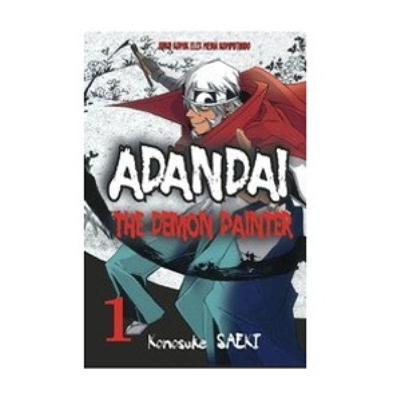 Grazera Adandai The Demon Painter Vol. 01 by Konosuke Saeki Buku Komik